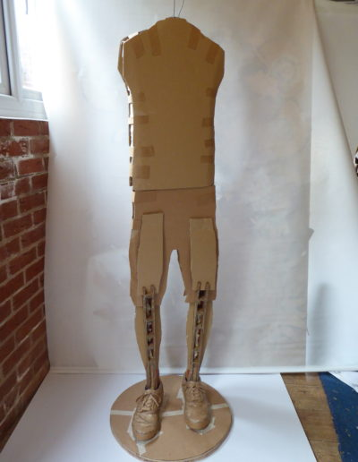 effects of lockdown - the body of the scuplture