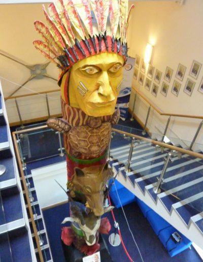James Lake Totem
