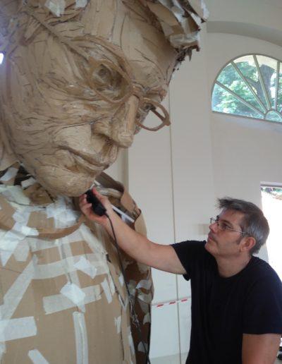 James Lake - Paperman, Lucca Biennale