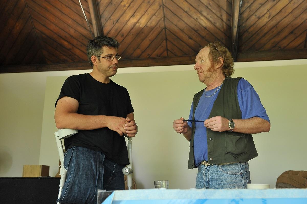 James Lake with Richard Wilson