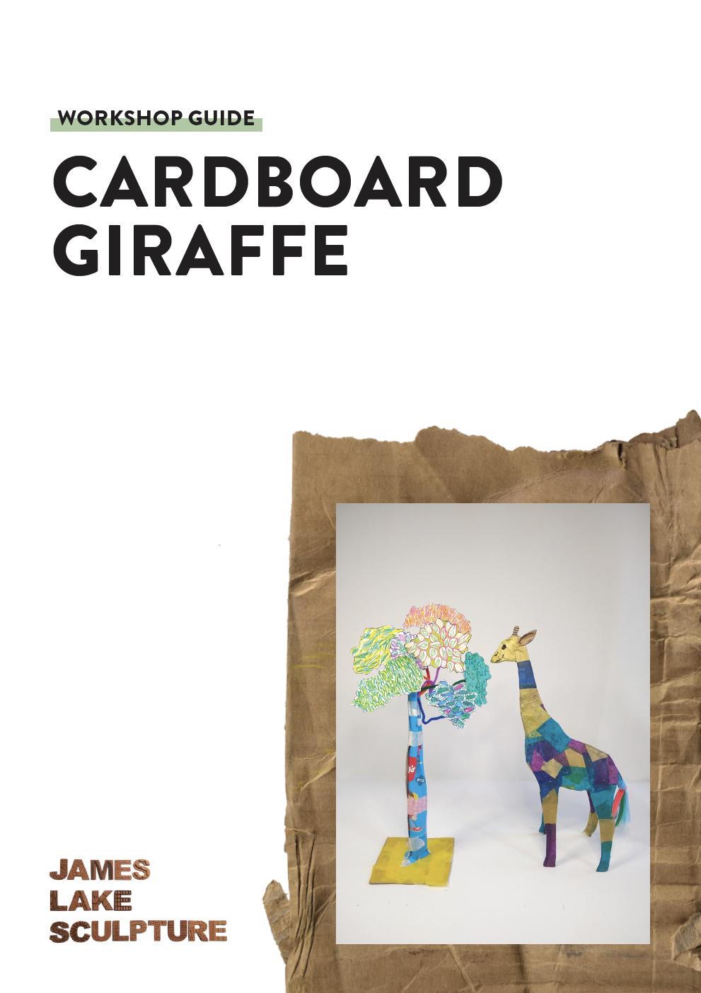 giraffe cover - James Lake