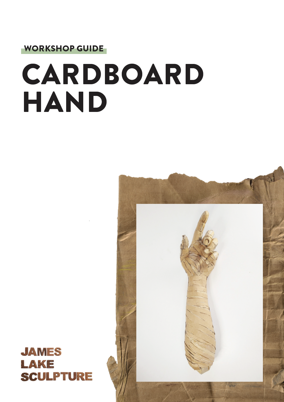 cardboard hand cover image - James Lake